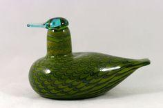 Oiva Toikka, Iittala -  glazen vogel, wintertaling (vrouw)