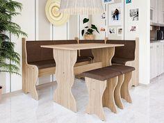 Konyhasarok PK308 - Újdonságok   Butor1.hu Dining Table, Beige, Furniture, Home Decor, Vit, Silver, Blue Prints, Decoration Home, Room Decor