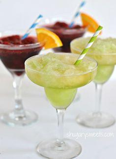 Seagram's Escapes Cocktails: Sangria Spritzer and Beer margaritas #seagrams #cocktails