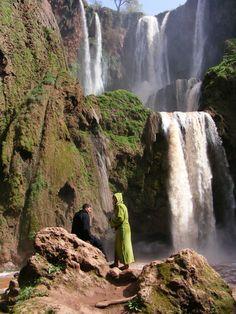 Marokko ouzoud waterval