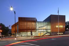 The District of Columbia Public Library designed by_The Freelon Group Architects_ has space devoted to children's services, including online access, a large