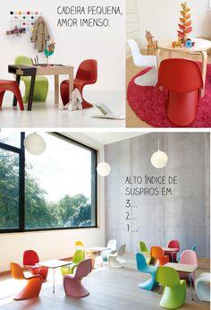 Casa de Colorir: Pequenos móveis para pessoinhas muito amadas