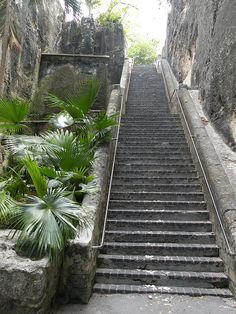 The Queens Staircase Nassau, Bahamas