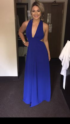 Rent Cobalt Cross Gown by Jill Jill Stuart for $70 - $110 only at Rent the Runway.