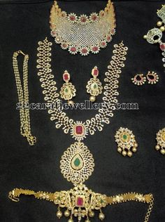 Jewellery Designs: Complete CZ Wedding Collection