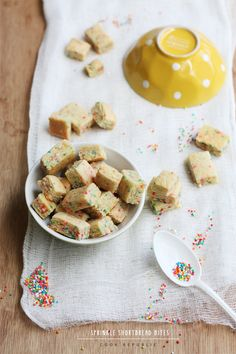 Sprinkle Shortbread Bites from @Sneh Roy | Cook Republic