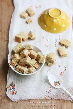 Sprinkle Shortbread Bites from @Sneh Roy | Cook Republic