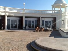 'Tea by the Sea' - under the Colonnade - Bexhill seafront
