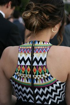 I'm in love with the back of this dress...