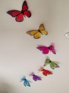7 Childrens Bedroom Nursery in Flight Rainbow by MyButterflyLove