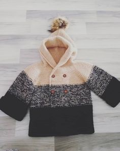 Degrade bebek hırkası yapılışı Turtle Neck, Baby, Sweaters, Fashion, Jackets, Breien, Moda, Fashion Styles, Sweater