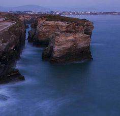 Ribadeo, Lugo: Praia das Catedrais.