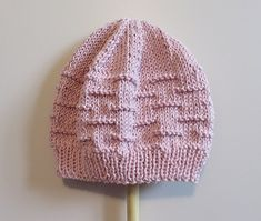 Trio of cups Crochet Beanie, Knit Or Crochet, Crochet Baby, Knitted Hats, Baby Hat Patterns, Baby Knitting Patterns, Free Knitting, Rico Design, Baby Bonnets
