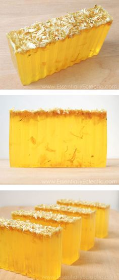 DIY Easy Rustic Carrot, Cucumber & Aloe Soap | www.EssentiallyEclectic.com | This soap is packed with antioxidant properties and is sure to leave your skin feeling amazing. It's natural orange color makes this the perfect soap for fall!