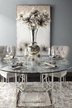sofia vergara paris champagne 5 pc dining room . $999.99. find