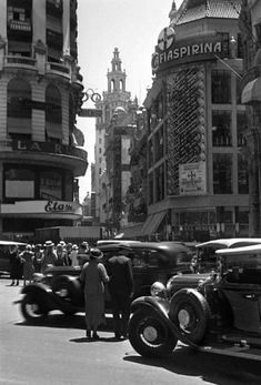 CALLE FLORIDA, Buenos Aires Más Visit Argentina, Argentina Travel, Historical Architecture, Art And Architecture, Vintage Architecture, Old Pictures, Old Photos, Old Postcards, Best Cities
