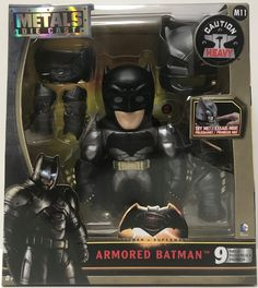 The Angry Spider Has All Of The Toys You Want For Your Collection: TAS038745 - 2015 ...  Check it out here! http://theangryspider.com/products/tas038745-2015-jada-toys-die-cast-batman-v-superman-6-armored-batman?utm_campaign=social_autopilot&utm_source=pin&utm_medium=pin