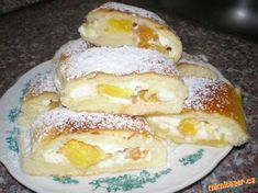 lehké zavinovačky - My site Russian Recipes, Strudel, Nutella, Sweet Tooth, French Toast, Deserts, Goodies, Food And Drink, Bread
