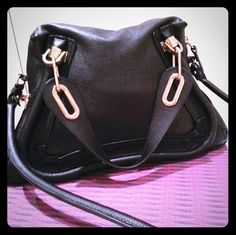 Chloe Paraty Shoulder Bag Good as new, used once, comes with tag, perfect condition, loves the calfskin leather and golden handles! Great size too! Chloe Bags Shoulder Bags