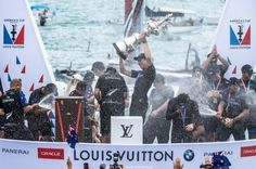 Peter Burling and Emirates Team New Zealand win