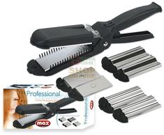 MAX PIASTRA PER CAPELLI PROFESSIONALE 4 IN 1 http://www.decariashop.it/home/10862-max-piastra-per-capelli-professionale-4-in-1.html