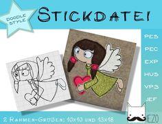 Bildergebnis für stickdatei doodle