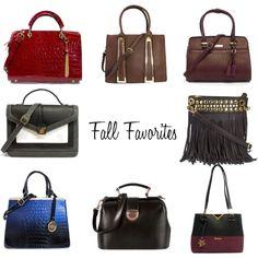 """""""Handbag Heaeven's Fall Favorites"""" by handbagheaven on Polyvore #fallfashion"""