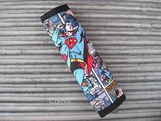 Superman Seat Belt Strap Cover; Man of Steel  by ComfyAccessories