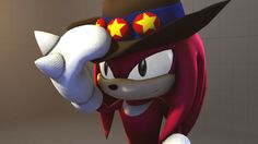 Super Knuckles the Echidna sega | Knuckles the Echidna, and Shadow the Hedgehog ©