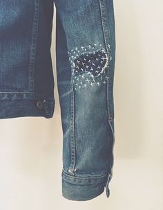 #hand stitch #denim