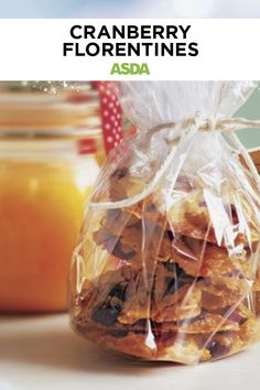 Christmas Treats, Christmas Baking, Gift Card Number, Cranberry Recipes, Edible Gifts, Dried Cranberries, Asda, Something Sweet, Almonds