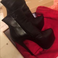 Christian louboutin daf booty100%authentic Dam I should buy little big ,just little tight for me ,other wise I won't sell them ,if anyone have 36i lol trad Christian Louboutin Shoes Heels