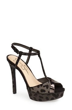 Jessica Simpson 'Carys' T-Strap Platform Sandal (Women) available at #Nordstrom