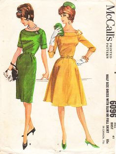 Vintage 1960s Misses' And Women's Plus Size by daisyepochvintage, $15.00