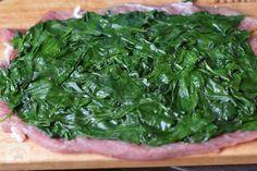 Rulada din muschiulet de porc, cu legume - CAIETUL CU RETETE Seaweed Salad, Spinach, Vegetables, Ethnic Recipes, Pork, Vegetable Recipes, Veggies