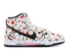 """Nike Dunk High Pro Sb """"cherry Blossom"""" 305050-106 Chaussure Nike Sneaker Prix Pour Homme/Femme - 305050-106 - Boutique Sneakers Officielle Pas Cher (FR) Nike Sb, Nike Air Max, Basket Nike Air, Baskets Nike, Jordans Sneakers, Air Jordans, High Top Sneakers, Converse Chuck Taylor High, Converse High"""