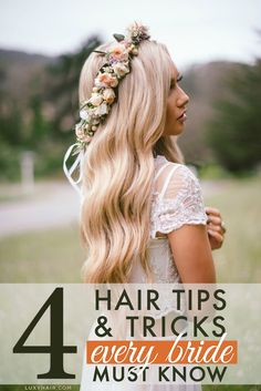 4 Wedding Hair Tips and Tricks Every Bride Must Know — Luxy Hair Blog - All about hair!