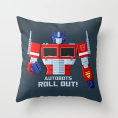 Inspired by the 1980's version of Optimus Prime, the leader of the Autobot transformers