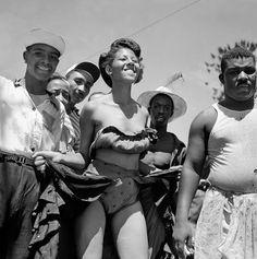 Bloco de carnaval - 1960.
