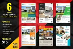 Ad: Premium Real Estate Flyer Bundle by ThemeDevisers on 6 Real Estate Flyer Templates Bundle These Real Estate Templates are helpful for a realtor, real estate agent for promoting your real estate Real Estate Branding, Real Estate Flyers, Real Estate Business, Real Estate Marketing, Real Estate Templates, Real Estate Flyer Template, Business Brochure, Business Card Logo, Interior Design Business