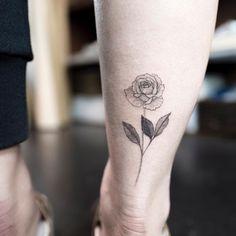 "4,893 curtidas, 29 comentários - 타투이스트 홍담 (@ilwolhongdam) no Instagram: ""rose  #rosetattoo #flowertattoo #blacktattoo #tattoo #tattoos #ink #hongdam #tattooisthongdam #장미타투…"""