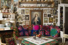 The ultimate collection - Virgin Mary, Religious Icons & Gypsy scarves!!!!!!!!!!!!!!!Heaven