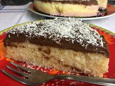 Sylvia Gasztro Angyal: Kókuszos tejbegríz torta