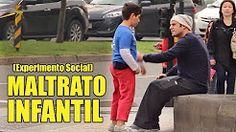 Maltratos Infantiles | Experimento Social - La Vida Del Desvelado - YouTube