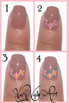 Pin on Naglar Nail Manicure, Diy Nails, Swag Nails, Nail Polish Designs, Nail Art Designs, Sunflower Nail Art, Easter Nail Art, Nail Art Pictures, Girls Nails