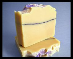 Lavender Lemon Olive Oil Soap  Handmade Soap  Soap by BellaFresca, $8.00