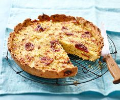 Quiche au chou-fleur et chorizo sans gluten Chorizo, Quiches, Some Recipe, Cooking, Breakfast, Desserts, Recipes, Food, Drizzle Cake