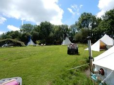 Glamping at Cwm Ty C