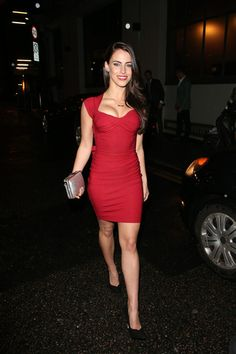 Jessica Lowndes in a Red Mini #MillionDollarShoppersGianna