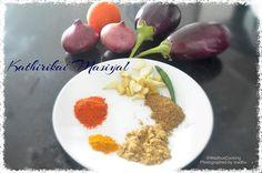 Madhu's Cooking And Craft: Kathirikai Masiyal/ Mashed Brinjal / Eggplant Grav...